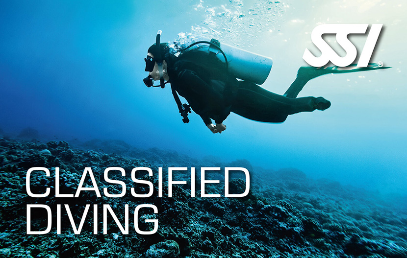 SSI Classified Diver