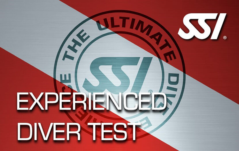 Experienced Diver Test