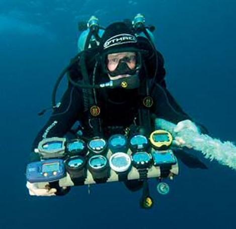 Atualmente existe uma vasta gama e variedade de computadores disponíveis, adaptando-se a todos os tipos de mergulhos, do recreativo ao técnico mais radical